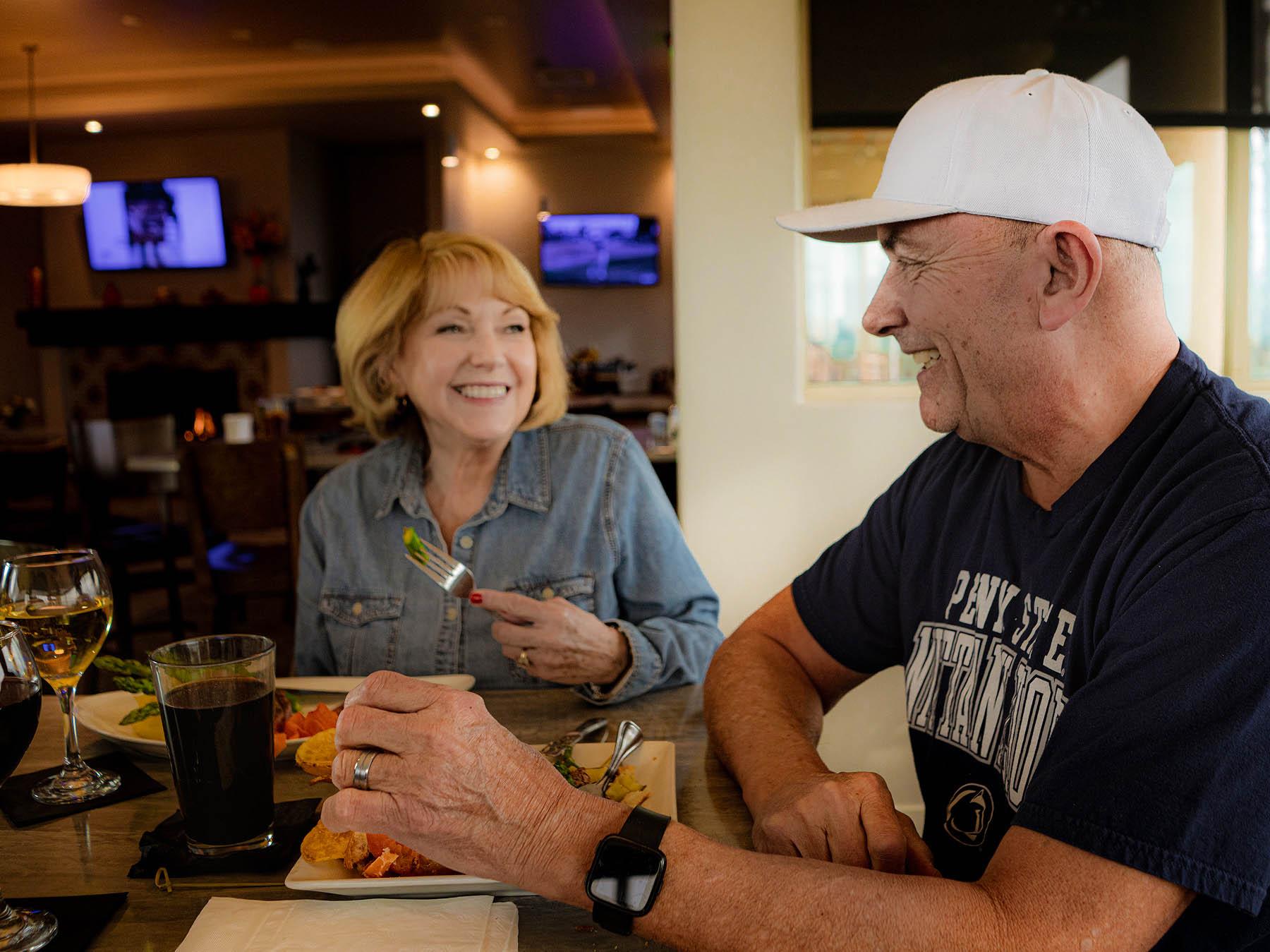 Dine at Morongo Golf Club at Tukwet Canyon